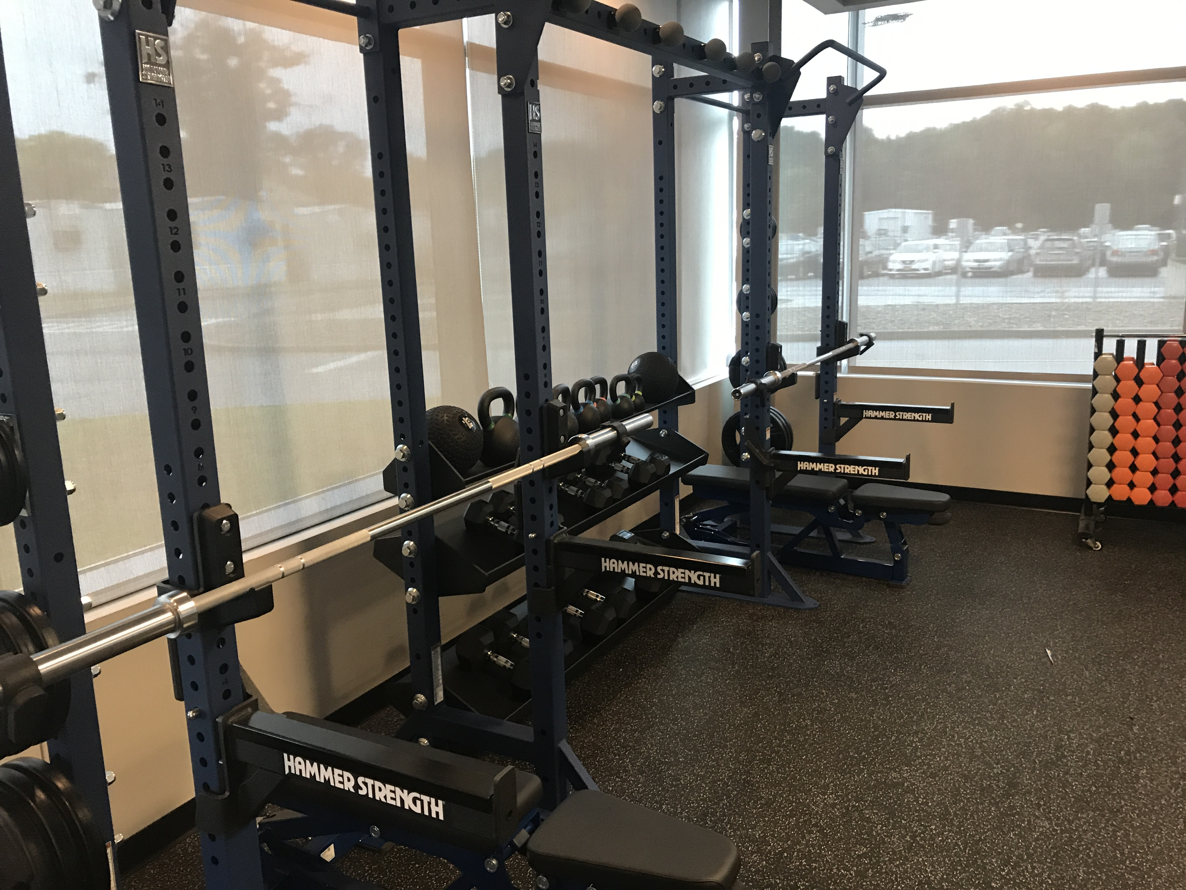 Image of weight equipment in fitness center